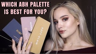 How To Pick an Anastasia Beverly Hills Eyeshadow Palette!    Which Palette is Best For You?