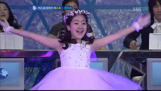 Cô bé Jung heri - Jin Ji Hee ngày xưa trượt băng cực dễ thương