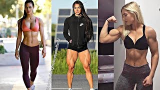 (Unreal Woman Workout Compilation)AWESOME GIRLS TRAINING Female Fitness Motivation HD
