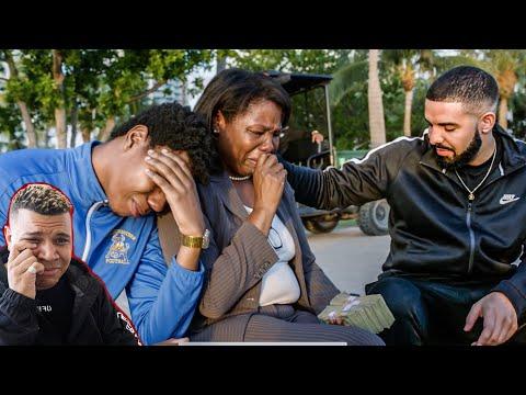 Drake - God's Plan (Official Music Video) Reaction *EMOTIONAL*
