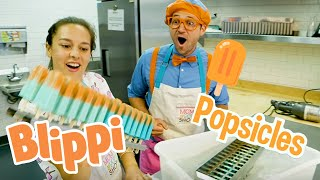 Blippi Ice Creams and Popsicles | Food Videos For Kids