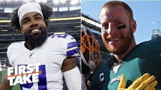 Eagles or Cowboys: Who had the better season opener? | First Take