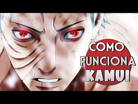 COMO FUNCIONA O KAMUI DO OBITO (Naruto)