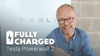 Tesla Powerwall 2 domestic storage battery installation and review   Fully Charged