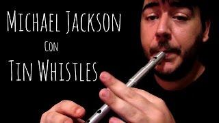 SantiGaitero - Smooth Criminal - Michael Jackson | Tin Whistle Cover