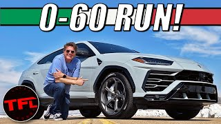 Just How Quick Is The 2021 Lamborghini Urus From 0-60 MPH?