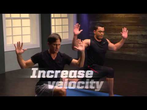 """Gaiam Athletic Yoga DVDs: """"Yoga for Power with Giancarlo Stanton"""" and """"Yoga for Conditioning with Jermaine Jones"""""""