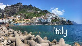 Italy 2017 GoPro travel: Naples, positano, amalfi, sorrento, Capri, agropoli, Rome, Florence, pisa