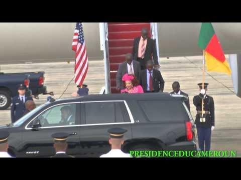 Le Couple présidentiel à Washington pour le Sommet des leaders Etats-Unis/Afrique