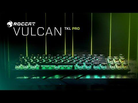 ROCCAT Vulcan TKL Pro | Compact Optical RGB Gaming Keyboard | 4K Trailer