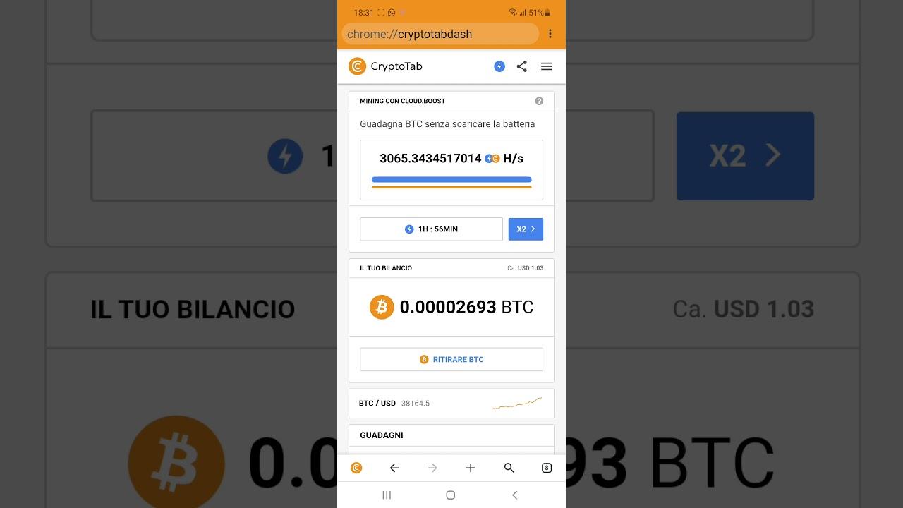 guadagnare bitcoin con android