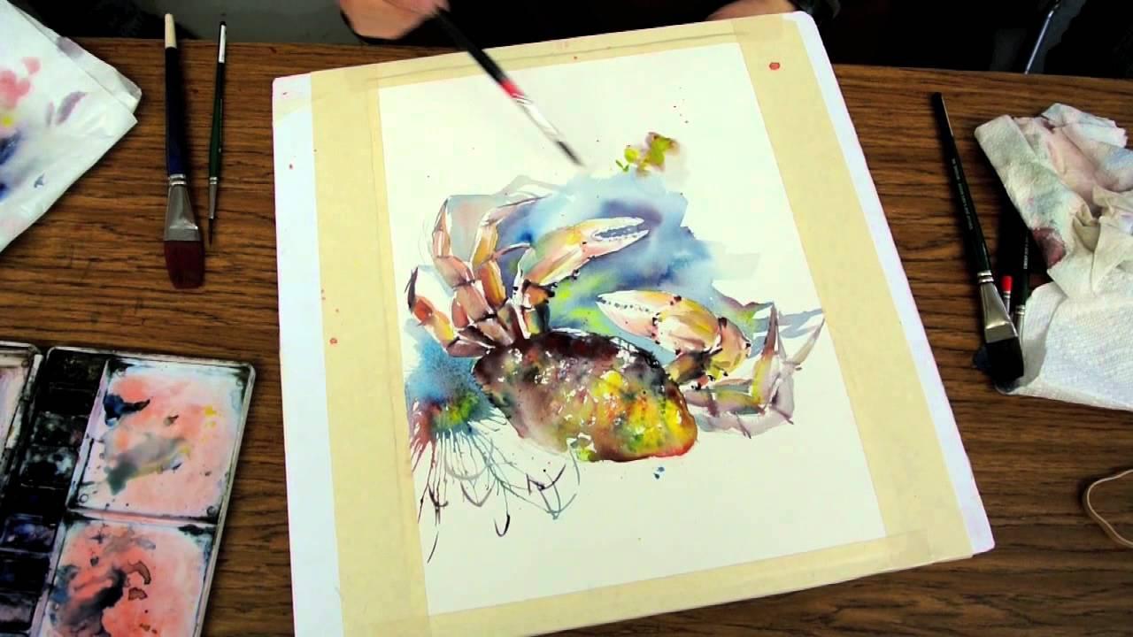 Watercolor - Magazine cover