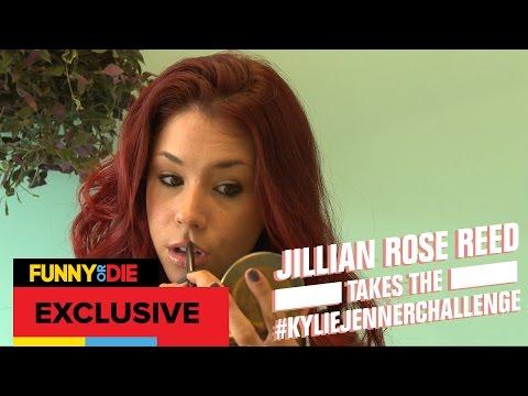 Jillian Rose Reed Takes the #KylieJennerChallenge