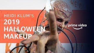 Heidi Klum's 2019 Halloween Makeup   Prime Video