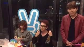 Hậu trường Mstory - Kelvin Khánh, Khởi My & Minh Xù  cực dễ thương (8/1/2018)