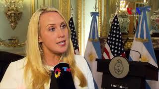Entrevista a Lydia Barraza, portavoz de Rex Tillerson en Argentina