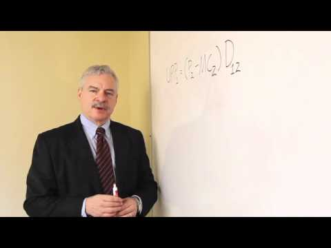 Upward Pricing Pressure Test by Richard Schmalensee - YouTube
