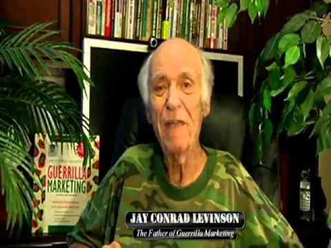 Jay Conrad Levinson #15 GuerrillaMarketer.com