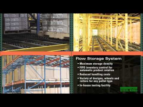 Steel King Flow Racking System