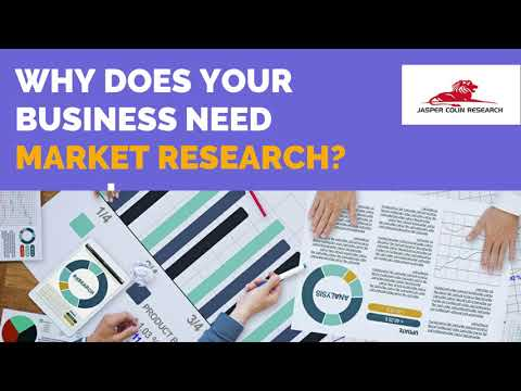 Why does your business need market research?