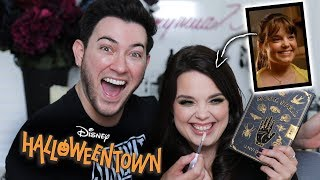 Glam TRANSFORMATION on Marnie from HALLOWEENTOWN!