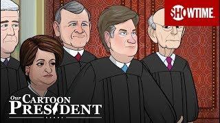 The Cartoon Supreme Court Visits Mar-A-Lago | Our Cartoon President | Season 2