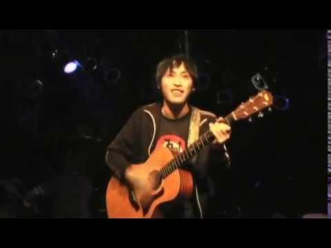 倉坂直樹ソロ The denkibran/ルート26 (2008年12月31日の飛び込み弾き語り)