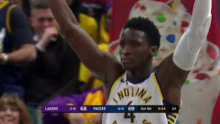 What a Dunk by Victor Oladipo! Lakers vs Pacers | March 19, 2018 | 2017-18 NBA Season