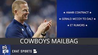 Cowboys Mailbag: Amari Cooper Contract, Gerald McCoy, Possible Cap Cuts & Earl Thomas Rumors