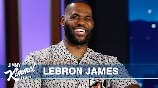LeBron James on NBA Finals, CP3 Friendship, Love for Guillermo & Space Jam: A New Legacy