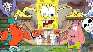 Spongebob in Cuphead meets Cala Maria(ft  OneyPlays) part 5