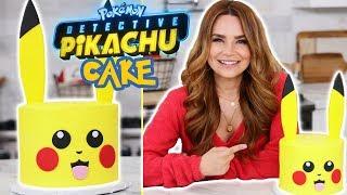 POKEMON Detective Pikachu Cake - Nerdy Nummies