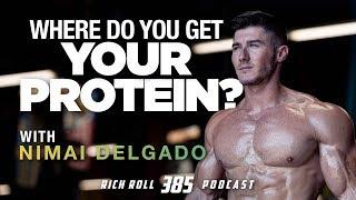How A Vegan Pro Bodybuilder Eats   Rich Roll Podcast