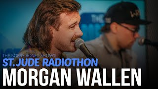 """Morgan Wallen Covers """"Take It Easy"""" & Performs His Song """"Chasin' You"""""""