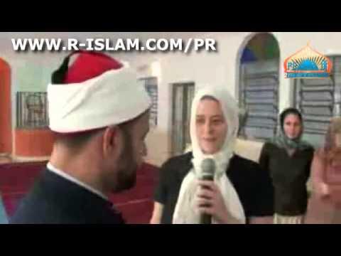 BraZILian Girl Convert To ISLAM  MENINA BRASILEIRA converter ao islamismo