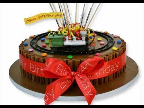 Train Set Cake