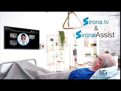 Sirona.tv – Hospital like care for elderly population using tv