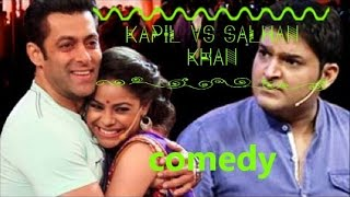 Kapil Sharma Comedy Nights -  Best Performance Funny Act (Salman Khan) 2016