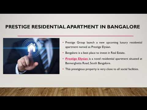 Prestige Luxury New Apartment Bangalore