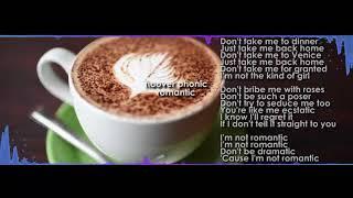 Hooverphonic - Romantic [ver.karaoke (LYRICS)]
