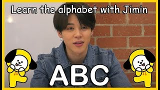 LEARN THE ALPHABET WITH BTS' JIMIN