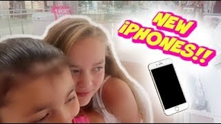 BUYING NEW iPHONES!! | SHOPPING FOR OUR NEW PHONES!! | MALL VLOG