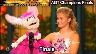 "Darci Lynne  Italian Opera ""O Mio Babbino Caro"" AMAZING | America's Got Talent Champions Finals AGT"