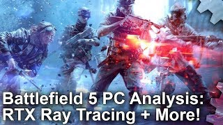 Battlefield 5 - RTX Ray Tracing Analysis