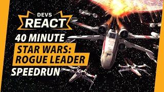 Star Wars: Rogue Leader Developers React to 40 Minute Speedrun