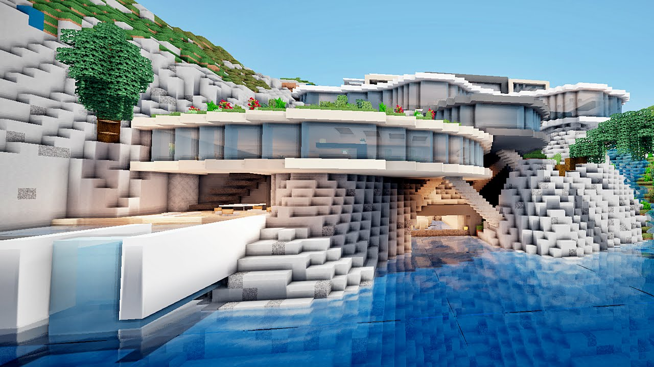 Visite De Ma Maison Et +bonus Terrasse Minecraft ! - video ...