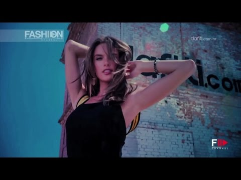 Alessandra Ambrosio for DAFITI Making of Spring Summer 2015 Campaign