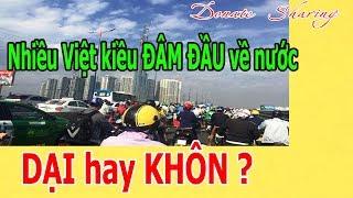 Nhiều Việt kiều Đ.Â.M ĐẦU về nước D.Ạ.I hay KHÔN