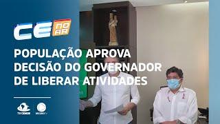 População aprova decisão do governador de liberar atividades físicas