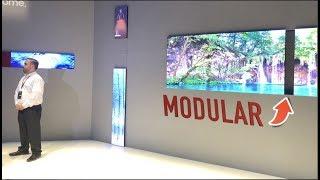 """Samsung nos sorprende con su TV de 219""""  Micro LED modular Y TV 8K CES 2019"""